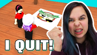 ROBLOX WORK AT A PIZZA PLACE | WE QUIT! | RADIOJH GAMES & DOLL…