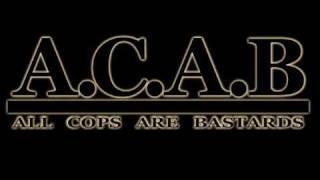 Обложка A C A B All Cops Are Bastards
