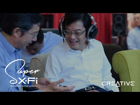 Singapore Budget Speech 2019 - Creative's Super X-Fi Technology