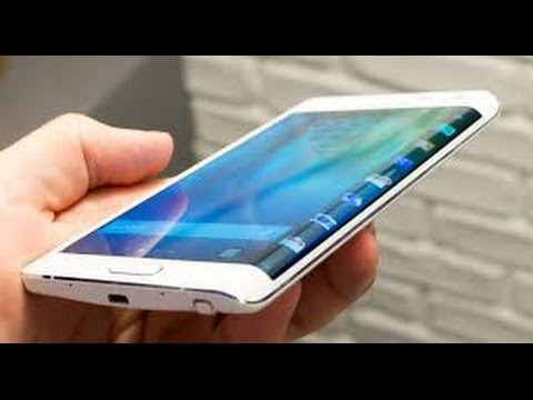 Galaxy Round Curved and Flexible Smartphone Display ...