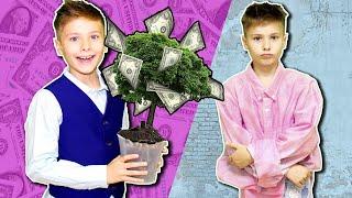 Богатый ШКОЛЬНИК vs Бедный в день учителя / типы школьников / Fast Sergey скетч