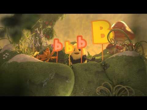 Didi & B Nick Jr. Letter B.