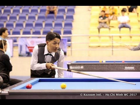 YOON Sung Ha vs Truong Quang Hao Billiards Carom 3 Cushion Vietnam