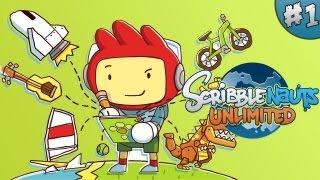 EN EĞLENCELİ OYUN !! - Scribblenauts : Unlimited - Let's Play / Walkthrough / Playthrough - Part 1