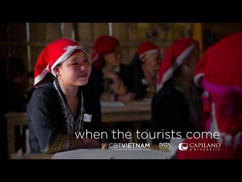When the Tourists Come - Capilano U / PATA Foundation Tourism Project (Sapa, Vietnam)