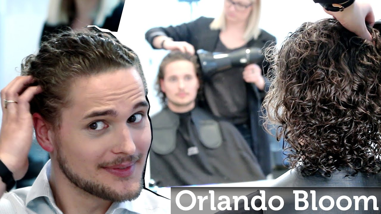 Orlando Bloom Long Curly hair or Jon Snow hair from Games of Thrones