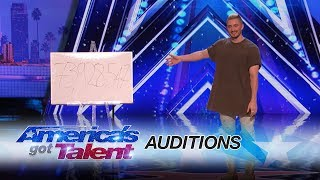 Tom London takes his tech magic to the streets of Hollywood before the big reveal that brought the audience to their feet. » Get The America's Got Talent App: ...