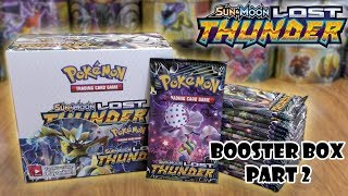 Lost Thunder Booster Box Opening Pt. 2