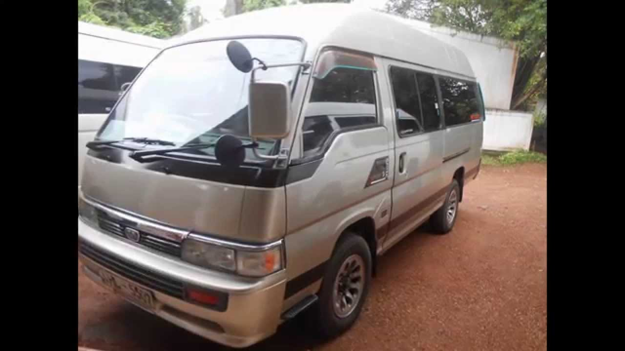 Nissan caravan van sale (www ADZking lk)