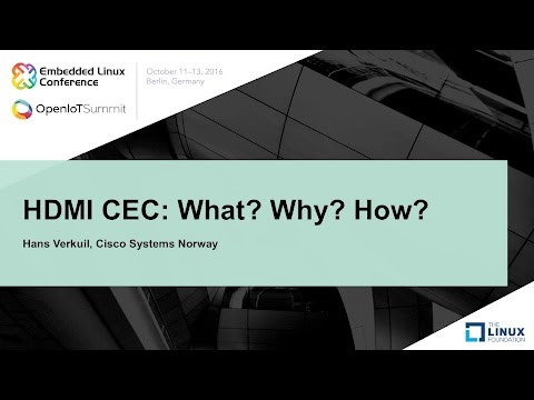 HDMI CEC: What? Why? How?