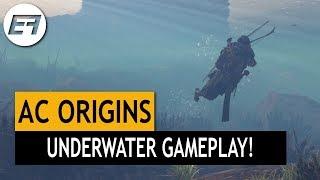 Assassin's Creed Origins - UNDERWATER GAMEPLAY!