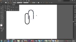 How can create a clip and attested paper adobe Illustrator CS6