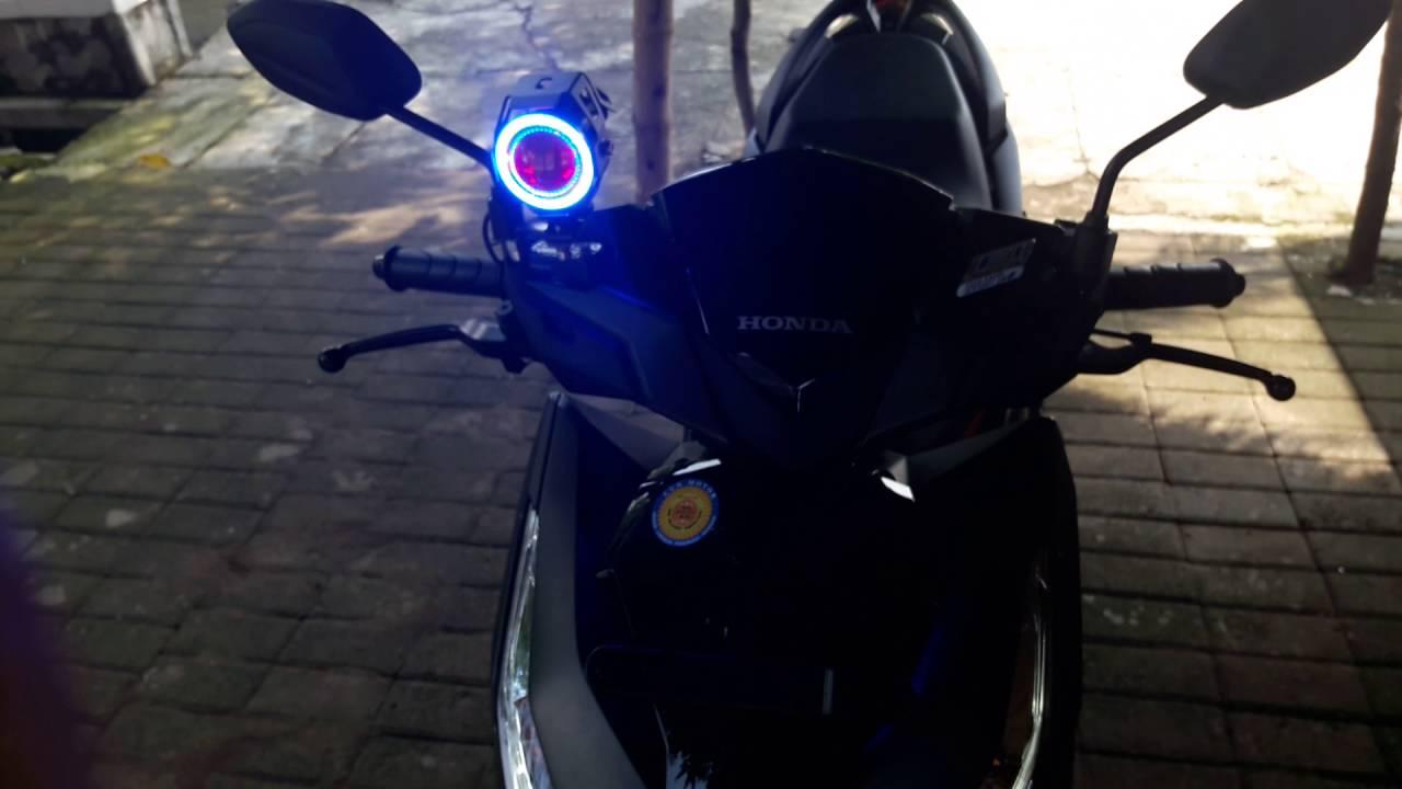 Koleksi Modif Lampu Motor Vario 150 Terlengkap Ontong Modifikasi
