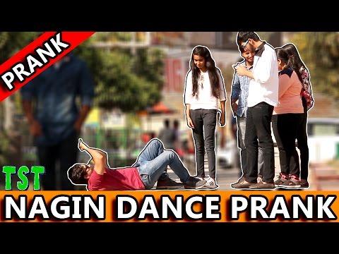 """""""NAGIN"""" Dance Prank - TST - Pranks in India 2017"""