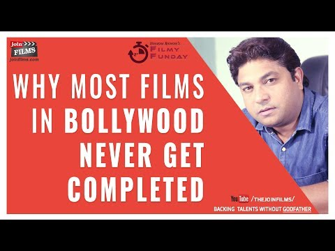 Why Most Bollywood Films Never Get Completed  | Filmy Funday #60 | Joinfilms
