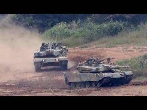South Korea, US Marines hold military exercises
