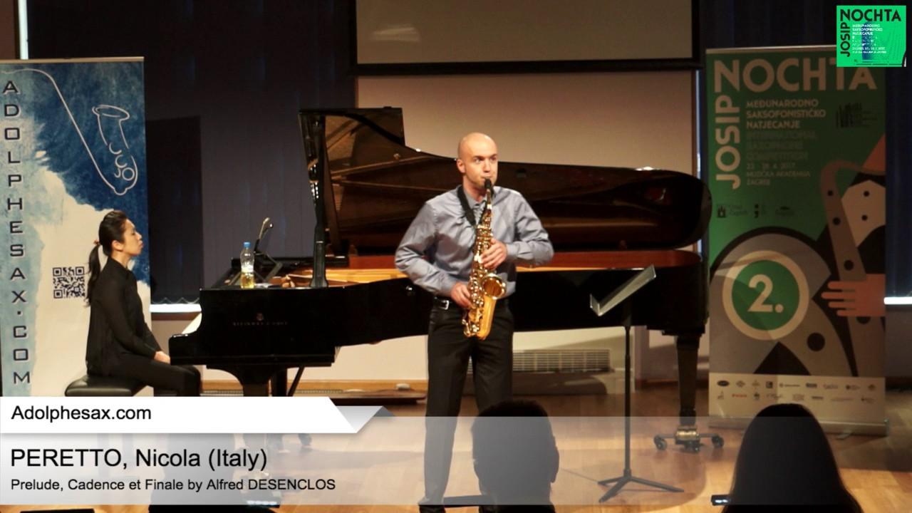 Prelude, Cadence et Finale by Alfred Desenclos – PERETTO, Nicola (Italy)