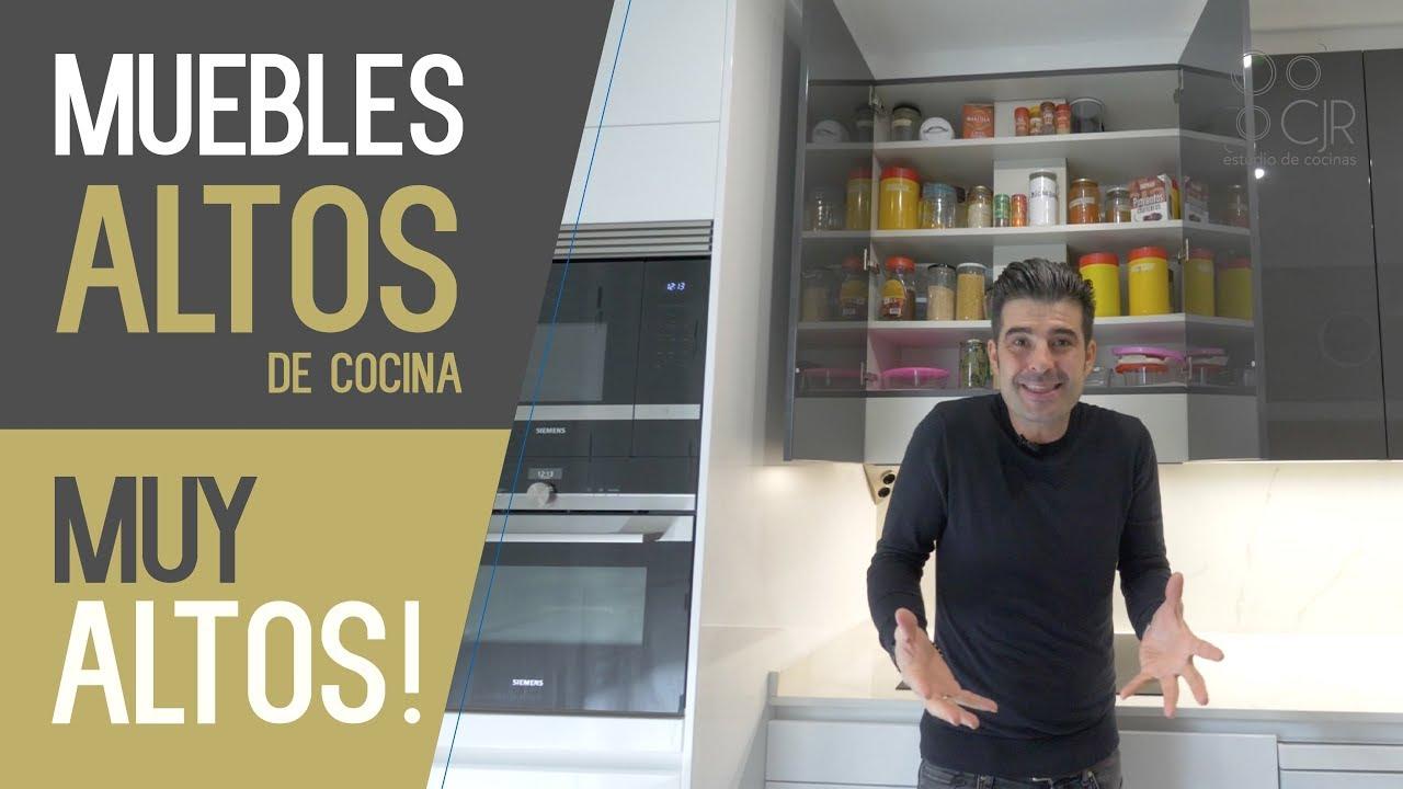 Muebles ALTOS cocina, MUY ALTOS , Cocinas CJR SANTOS