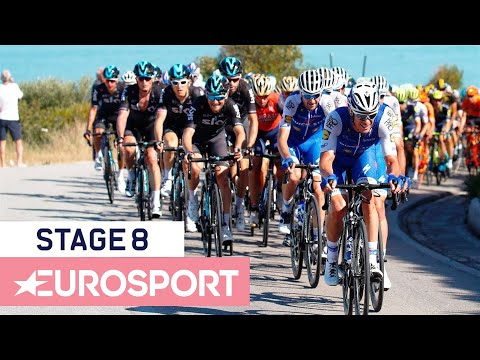 Giro d'Italia 2018 | Stage 8 Key Moments | Cycling | Eurosport