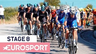Chris Froome Crash Takes Brit Out of Contention | Giro d'Italia 2018 | Stage 8 Key Moments