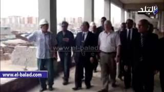 بالفيديو.. وزير التعليم العالي يزور إنشاءات جامعة دمياط