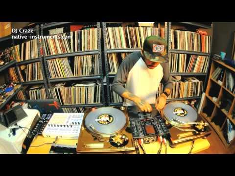 DJ CRAZE 'Monster Scratch Live'