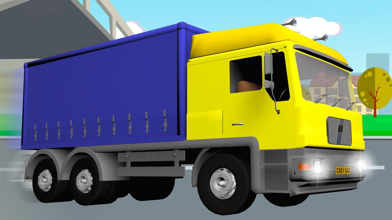 Camion Pour Bébés Vidéo éducative De Voitures Dessins Animés Pour Enfants