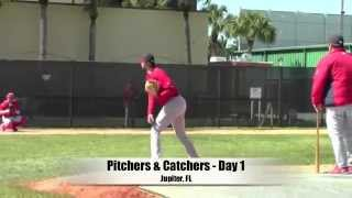Spring Training - St. Louis Cardinals 1st Day Pitchers & Catchers 2015