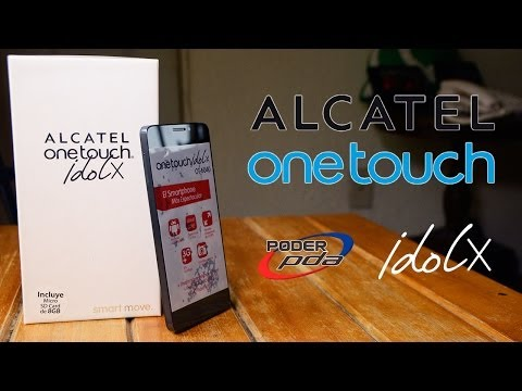 Alcatel OneTouch Idol X - Unboxing en Español