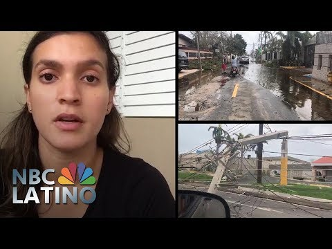 Scenes From The Ground: Puerto Ricans Document Shattered Lives | NBC Latino | NBC News