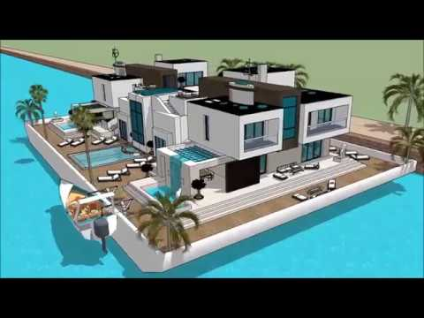 Modular Chinese Floating House Technology 100 Future House In Hong Kong China Permanent Residence Wi