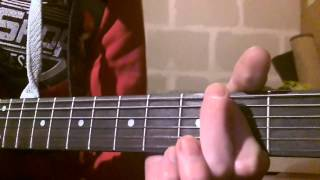 How to play Hail Ceasar by ACDC