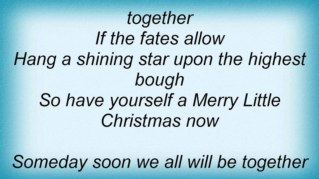 Manhattan Transfer - Have Yourself A Merry Little Christmas Lyrics - YouTube