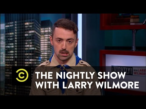 The Nightly Show - Oh Boy! - Gay Boy Scout Leaders - Matteo Lane
