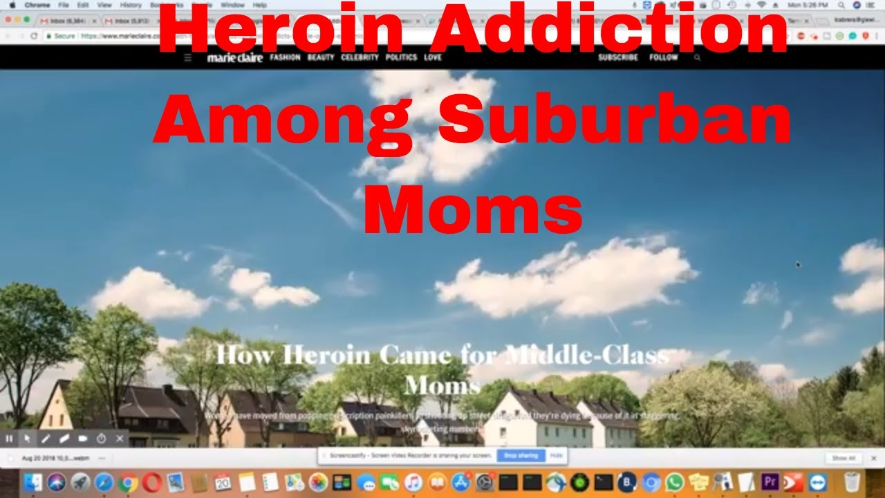 How Heroin Started Among Middle Class Moms