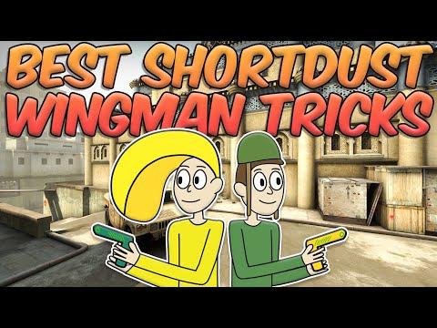 Best ShortDust Wingman Tricks   CSGO