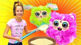 Много игрушек Tiny Furry (Тайни Ферри)— Большая распаковка— Милые няшные игрушки!