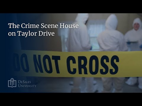 The Crime Scene House on Taylor Drive