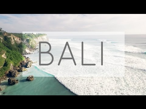 Travel Diary | Bali, Indonesia | Seminyak & Uluwatu by Drone  (1080 HD)
