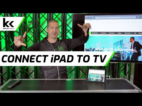 How To Connect IPad To TV