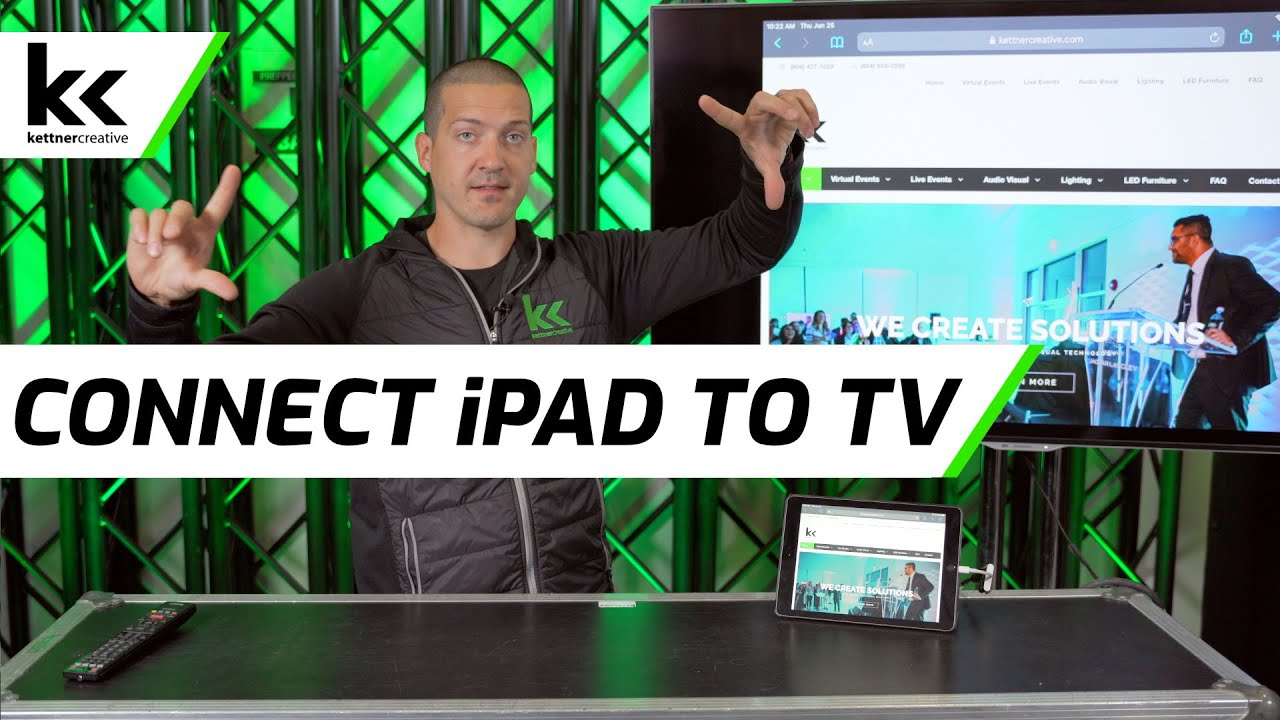 How To Connect Ipad To Tv Youtube