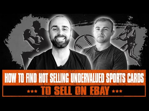How To Find HOT SELLING Undervalued Sports Cards To Sell On EBay For HUGE PROFITS!