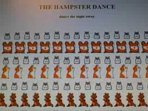 Original Hampster Dance from 1997 (hamsters dancing online)