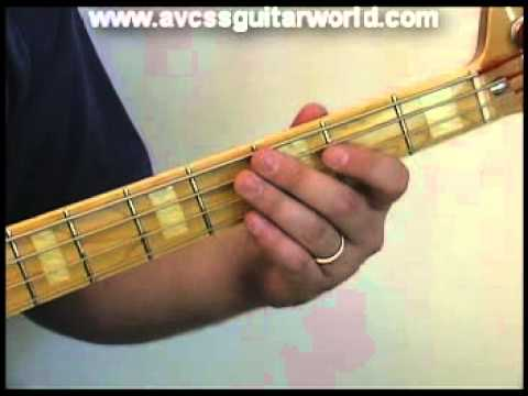 Bass Guitar Lesson - Country Style Walk on the Bass