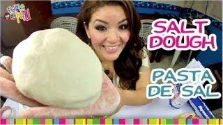 How to make Salt Dough / Cómo hacer masa de sal.