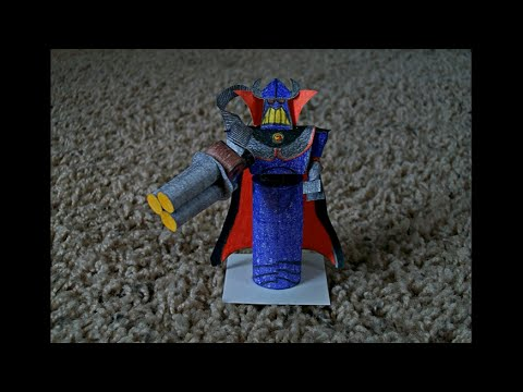 Papercraft Paper Model of Zurg from