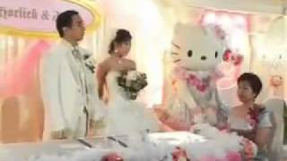 Fantastic Hello Kitty wedding in Hong Kong