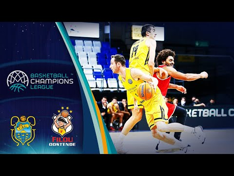 Iberostar Tenerife v Filou Oostende (Condensed Game) - Basketball Champions League 2019-20