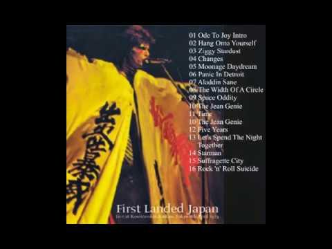 David Bowie Tokyo, 08 04 1973