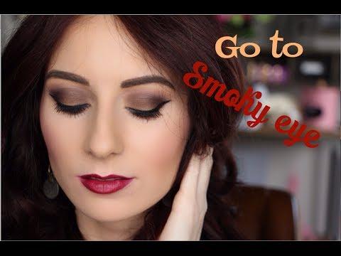 Go To Brown Smoky Eye Bobbi Brown Taupe Eyeshadow Youtube